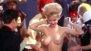 Bare-chested Dancing at a Costume Soiree (1960s Antique)