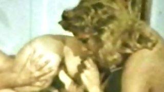 Lesbo Peepshow Loops 535 70's and 80's - Scene trio