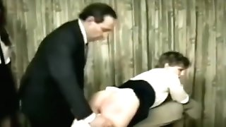 More Natural Wedgies In Spanking