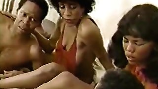 Tina Davis, Silver Satine, Alexander James in classical porno