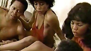 Tina Davis, Silver Satine, Alexander James in classical porno