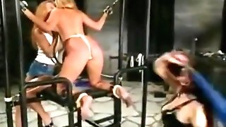 Youthfull Pj Sparxx Predominated By Two Women