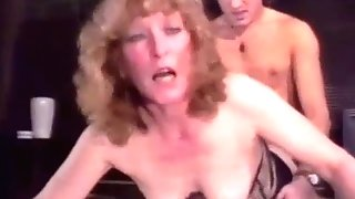 Retro Granny Anal invasion