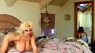 Two Gorgeous Retro Natural Tits Ladies Finger-tickling Poon